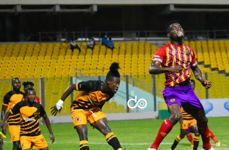 AshaGold scored late to draw with Hearts in Accra