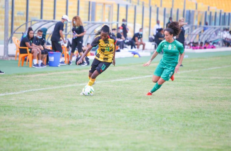 Match between Black Queens and Morocco