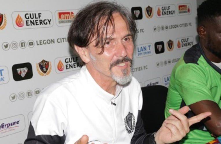 Legon Cities sack coach Goran Barjaktarevic after defeat against Olympics