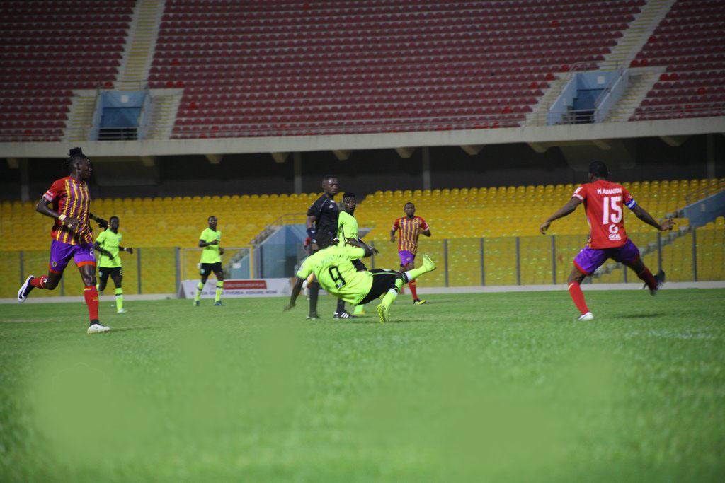 Hearts vs Dreams FC