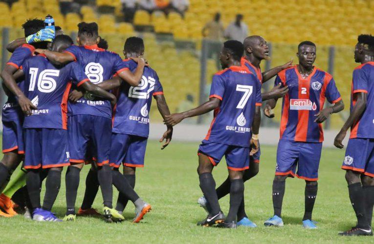 GPLWK19 – Legon Cities defeat Great Olympics in Accra