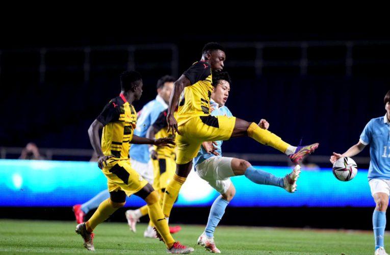 Japan U-24 trash Ghana in a friendly match