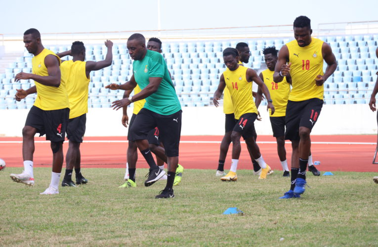 Black Stars continue preparations for Morocco and Ivory Coast friendlies