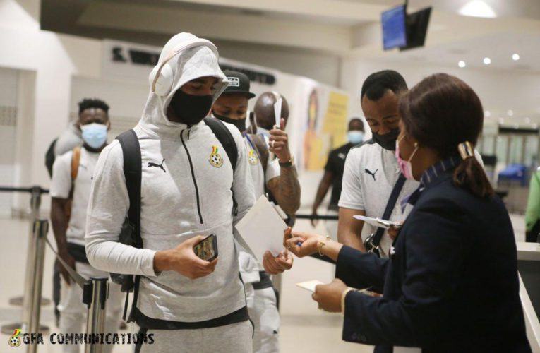 Black Stars arrive in Rabat for Morocco friendly on Tuesday